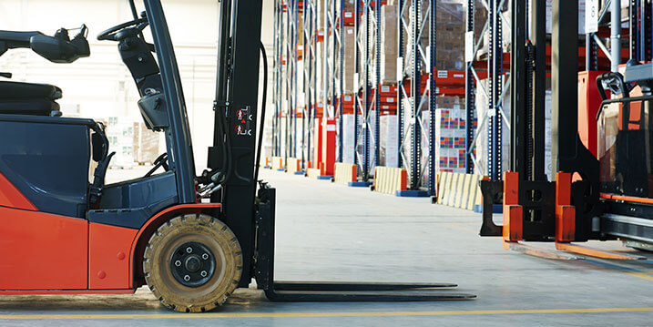 A Forklift without a driver