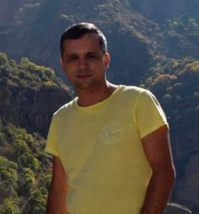 A picture of Ilhom Saidov